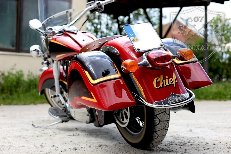 Airbrush-Candy-Red-Indian-Chief-Bike4