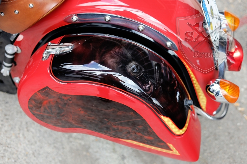 Airbrush-Candy-Red-Indian-Chief-Bike2