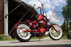 Airbrush-Candy-Red-Alice-Bike