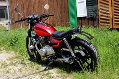 Airbrush-Kawasaki-Kamikaze-Bike