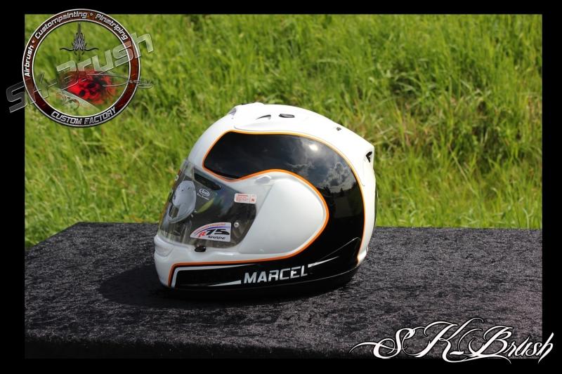 Airbrush-Arai-Helm-Marcel