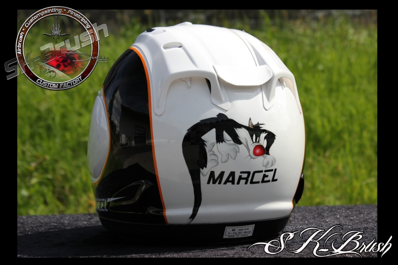 Airbrush-Arai-Helm-Marcel2