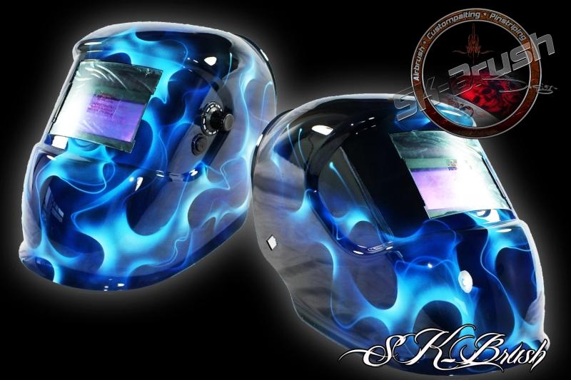 Airbrush-Automatik-Schweisshelm-Welding-Helmet