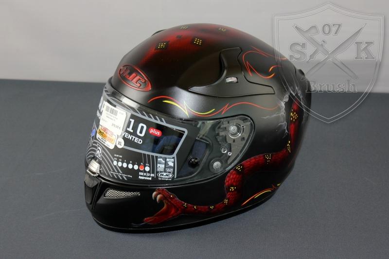 Airbrush-HJC-Helmet-LAURIN