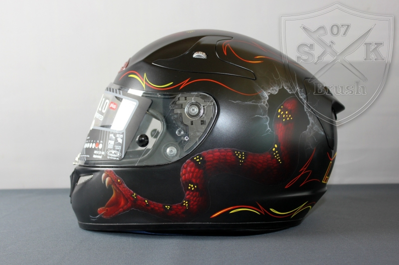 Airbrush-HJC-Helmet-LAURIN1
