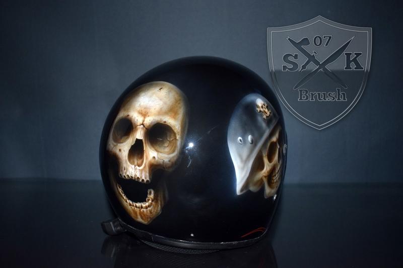Airbrush-Helm-Leo1