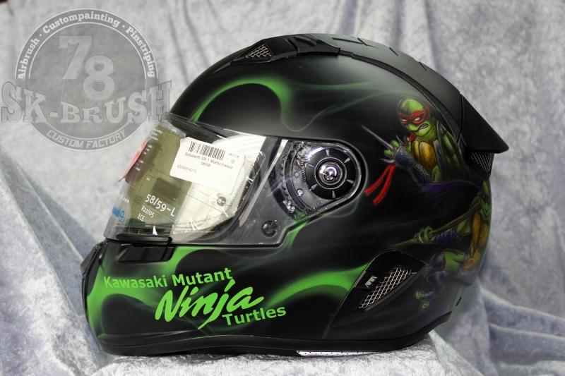 Airbrush-Schuberth-Helmet-ninja-turtles1