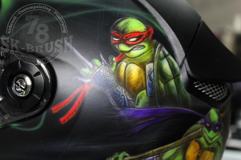 Airbrush-Schuberth-Helmet-ninja-turtles3