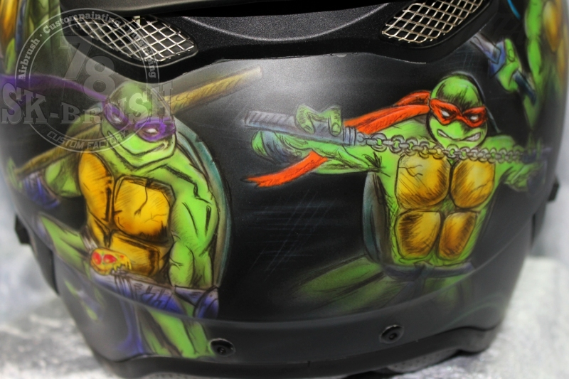 Airbrush-Schuberth-Helmet-ninja-turtles4