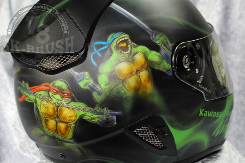 Airbrush-Schuberth-Helmet-ninja-turtles5