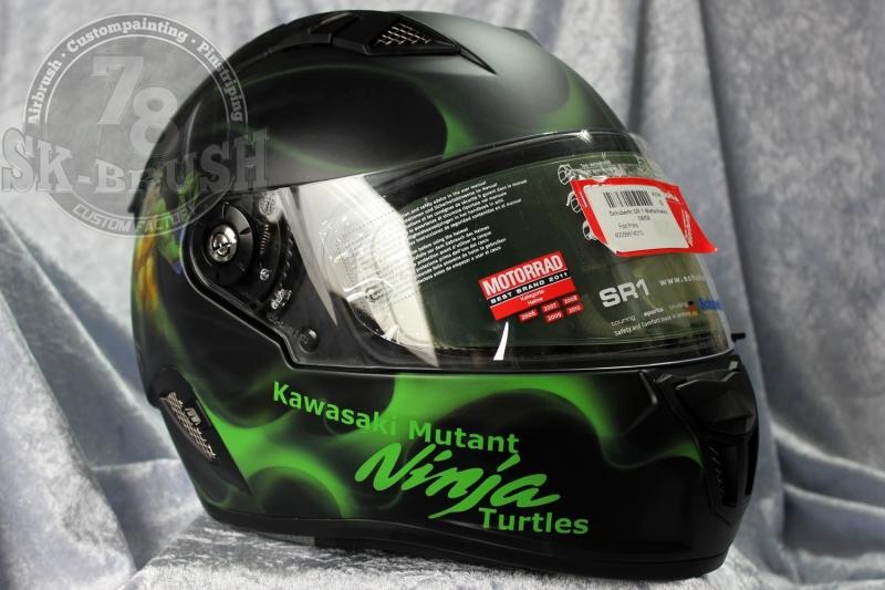Airbrush-Schuberth-Helmet-ninja-turtles6