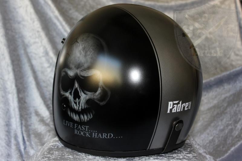 Padre-Azul-Custom-Helmet