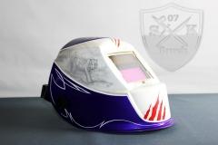 Airbrush-Automatik-Schweisshelm-Welding-Helmet-Tiger