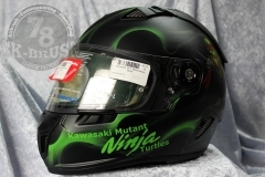 Airbrush-Schuberth-Helmet-ninja-turtles