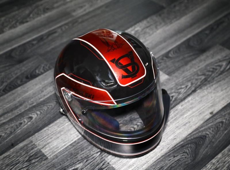 Airbrush-Racing-helmet-custom-helm-rennhelm-VS3