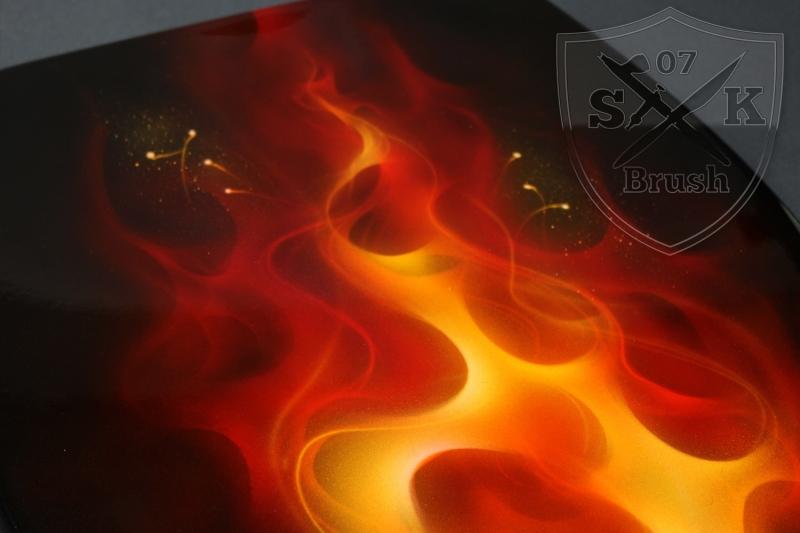Airbrush-WC-Sitz-TrueFire-FeuerDeteil
