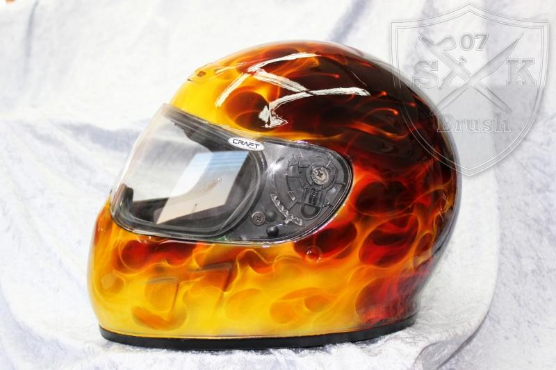 Flames-Helmet