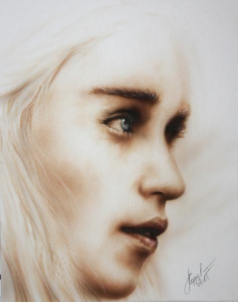 Khaleesi-on-canvas-1