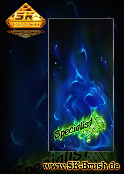 Specialist-Paints-Airbrush-Shield-blue-green-fire