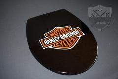 Airbrush-WC-Sitz-Harley-Cycles1