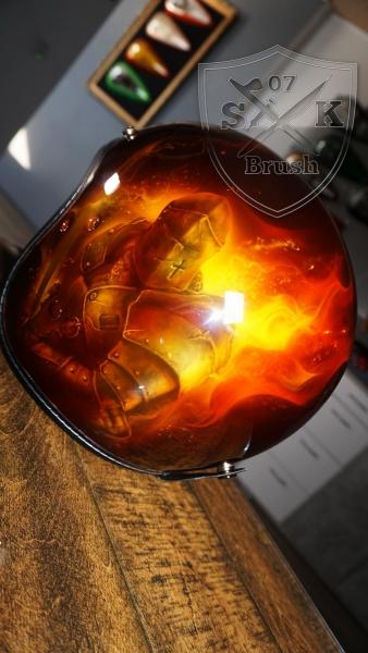 Harley-Davidson-Airbrush-Dragon-Fire-Komplett-Helm1