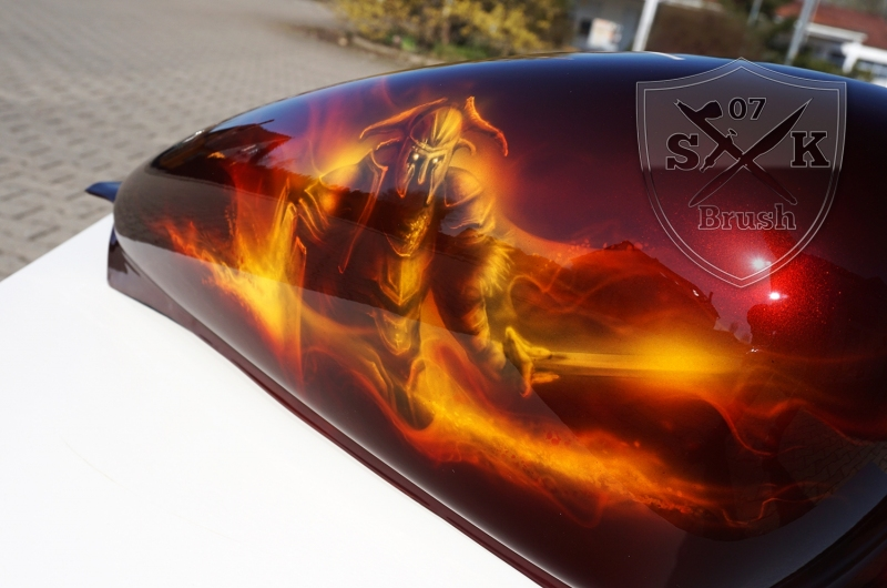 Harley-Davidson-Airbrush-Dragon-Fire2