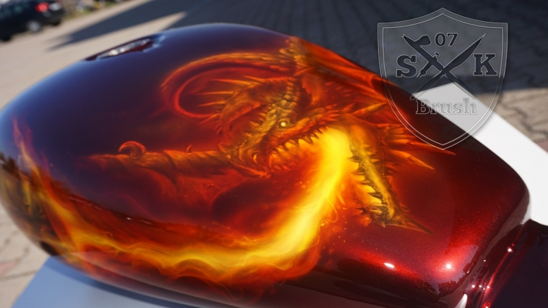 Harley-Davidson-Airbrush-Dragon-Fire4