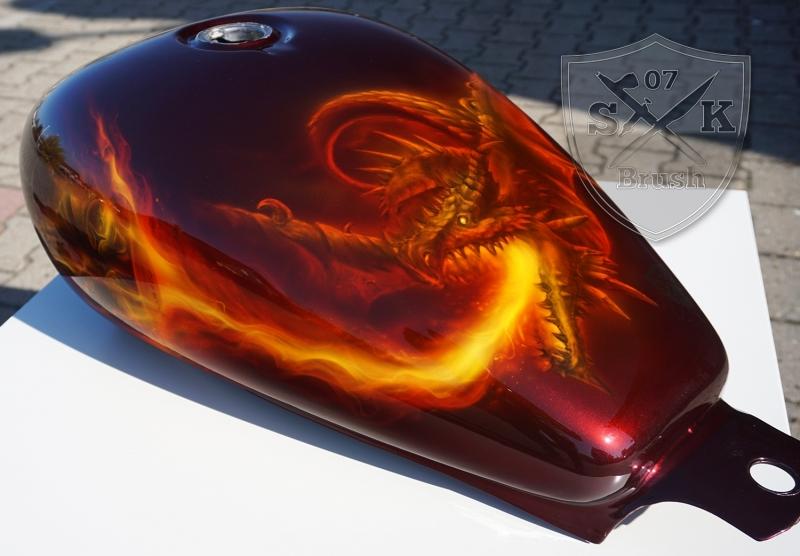 Harley-Davidson-Airbrush-Dragon-Fire6
