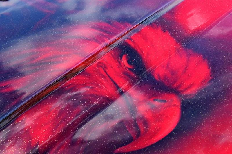 Airbrush-Mustang-Legends