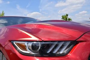 Ford Mustang Airbrush Custompaint Lackierung