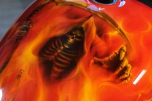 Grim Reaper Fire - Red Chopper HD