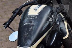 Jack the Ripper Airbrush Custombike