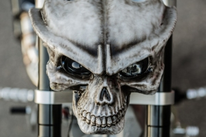 Monkey Bike Skull
