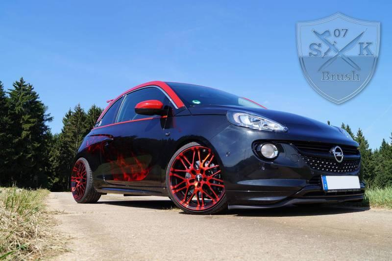 Opel-Adam-S-Airbrush-red-flames3Mini