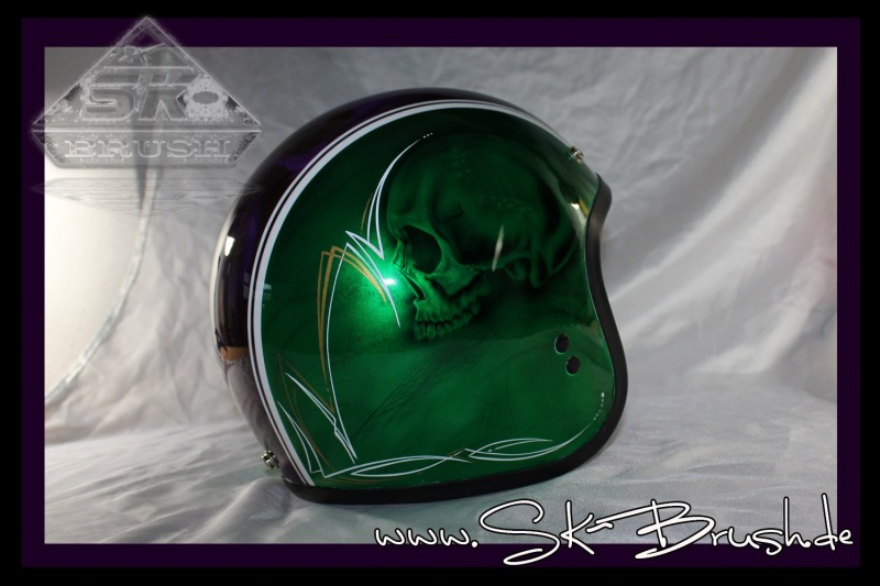 Airbrush-Jet-Helm-Candy-Green-Violet-Pinstripe5