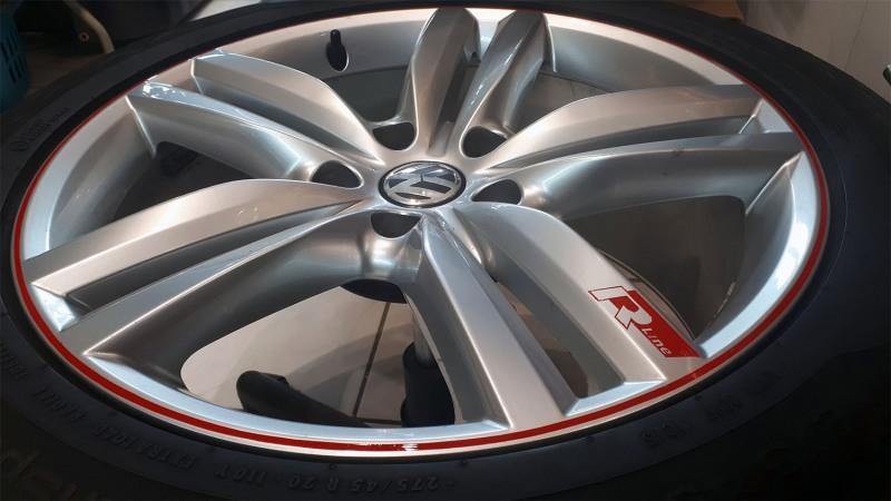 R-Line-VW-Felgen-Liniert-Linierung-Pinstriping-handliniert-stripes-streifen-rot-logo-rline-2