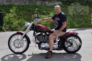 Skull Candy RED Harley Davidson