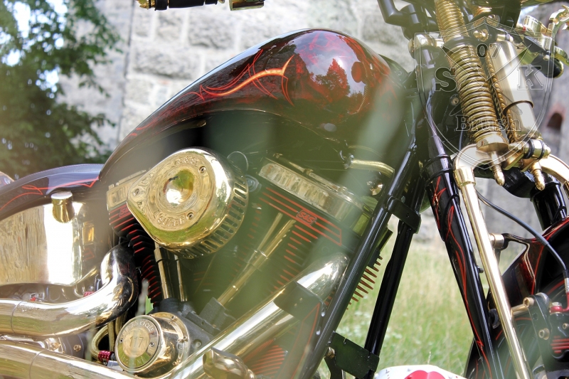 Harley-Davidson-Airbrush-Custompaint-Schwarze-Ritter16