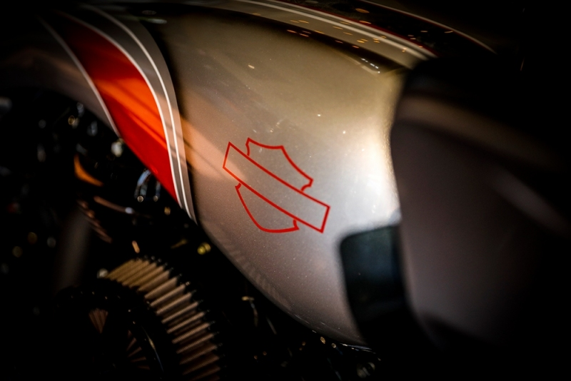 Streetglide-Harley-Davidson-Airbrush-Lackierung-Silber-Candy-Pinstripes-Orange-www.jacklinfotos.com-13