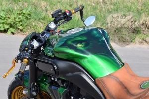 Yamaha MT Fallout Green